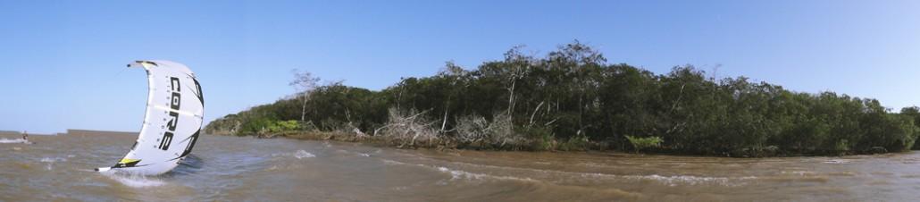 Downwinder im Delta Parnaiba
